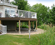 Deck Overlooking Wetlands